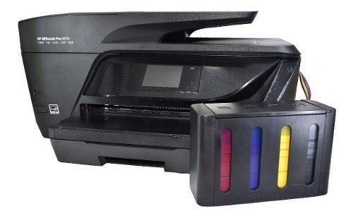 Impre multifuncional hp 6970 sistema d tinta tanque de lujo