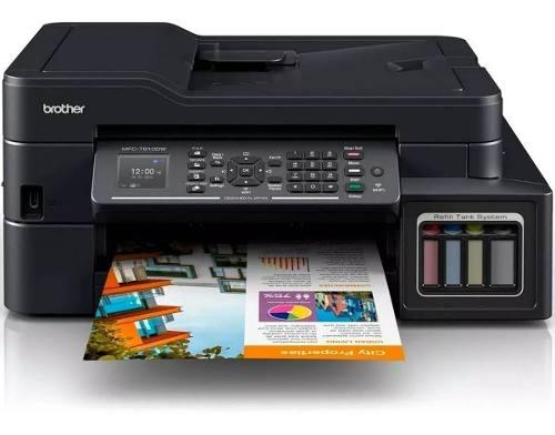 Impresora brother multifuncional t910 tinta continua duplex