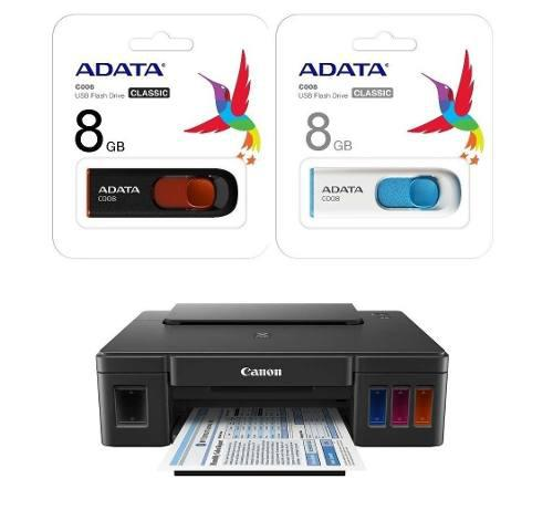 Impresora canon pixma g1100 tinta continua +1 usb 8gb gratis