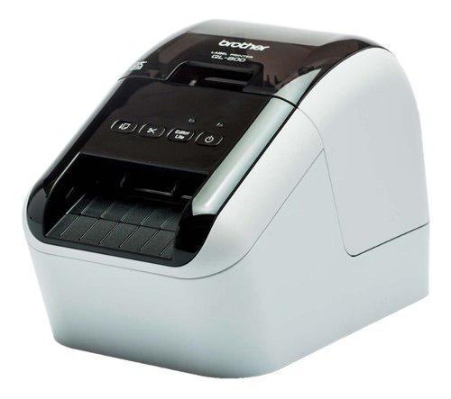 Impresora de etiquetas térmica directa brother ql800 usb
