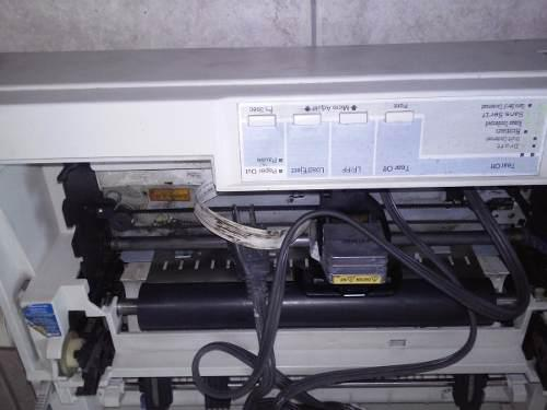 Impresora de matriz de puntos epson lx-300++ para refaccione
