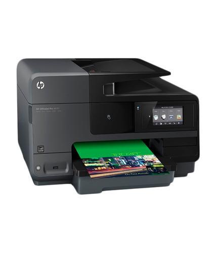 Impresora e-todo-en-uno hp officejet pro 8610 pantalla