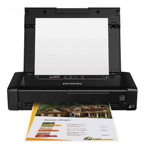 Impresora epson de inyección de tinta portátil epson wf-10