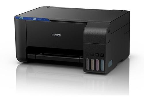 Impresora epson l1110 cargada con tinta de sublimacion
