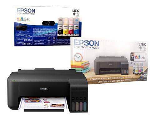 Impresora epson l1110 ecotank tinta continua
