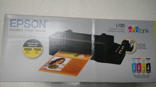 Impresora epson l120 sistema de tinta continua envio gratis!
