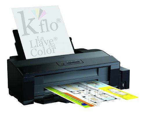 Impresora epson l1300 sistema tinta original y tinta couche