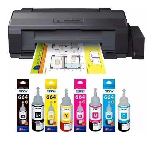 Impresora epson l1300 tabloide tinta continua a3+ sublimar