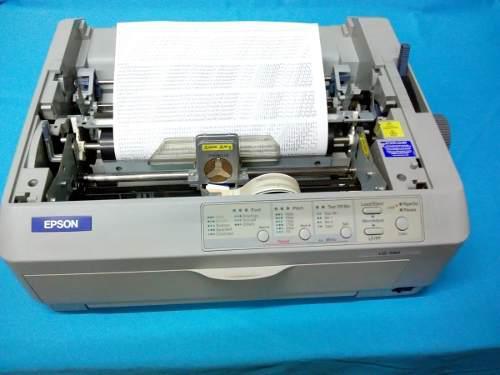 Impresora epson lq-590 24 pines con cable de poder