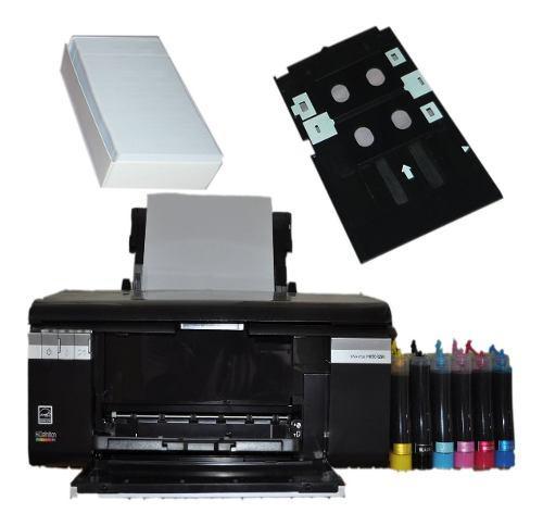Impresora epson t-50 mas kit de impresion de credenciales