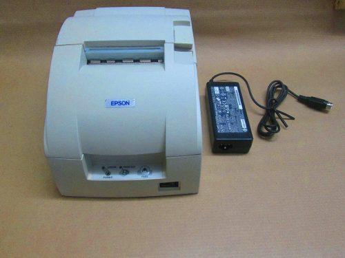 Impresora epson tmu-220 con cinta y eliminador original