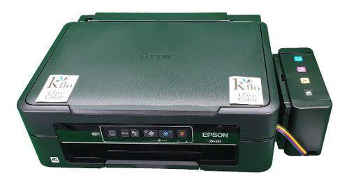 Impresora epson xp241 y sistema de tinta comestible