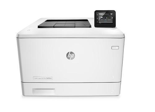 Impresora hp color laserjet m452dw, 28 ppm, duplex wifi