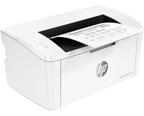 Impresora hp laserjet m15w monocromática usb wifi