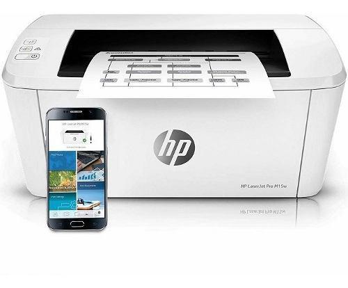 Impresora hp laserjet pro m15w usb y wifi monocoromatica