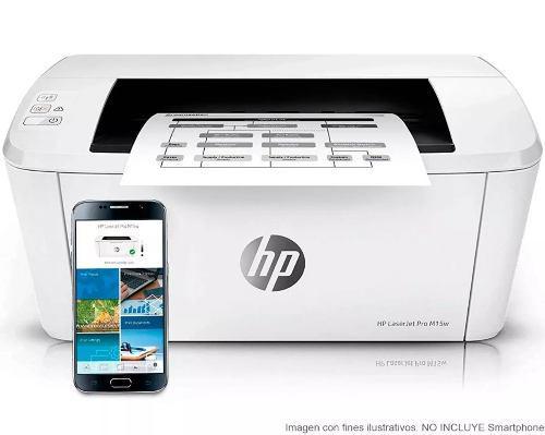 Impresora hp laserjet pro m15w wifi garantia facturamos