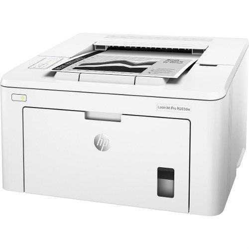 Impresora hp laserjet pro m203dw monocromática duplex wifi