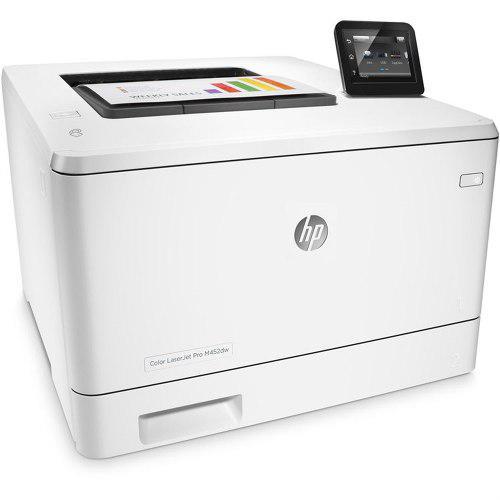 Impresora hp laserjet pro m452dw color duplex wifi