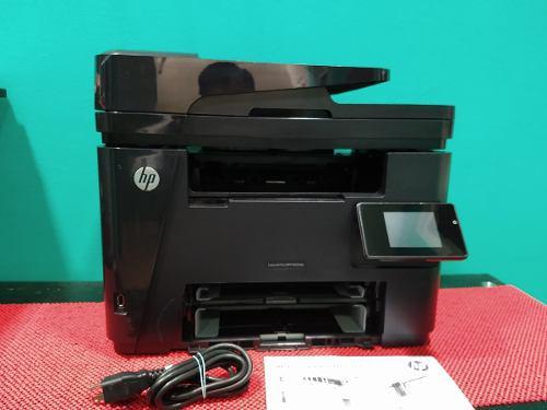 Impresora hp lj m225dw c/ toner y cables 25ppm inalambrica