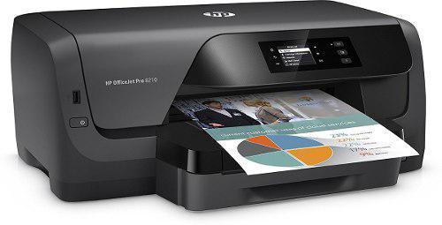 Impresora hp officejet 8210 con sistema de tinta continua