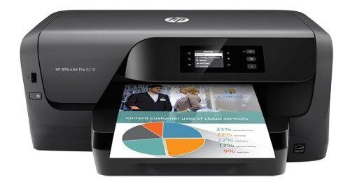Impresora hp officejet pro 8210 inyeccion de tinta