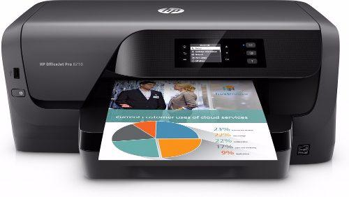 Impresora hp officejet pro 8210 negra wifi duplex