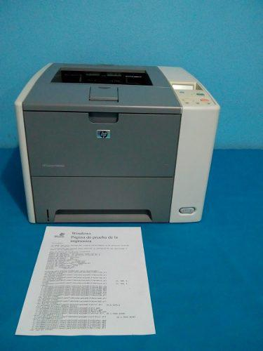 Impresora hp p3005n red, usb toner y cables 33ppm