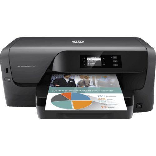 Impresora inyección de tinta hp pro 8210 con wifi usb 22ppm