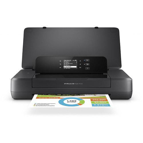 Impresora inyección hp officejet 200 mobile portátil wifi