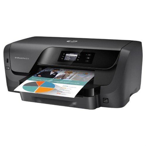 Impresora inyección hp officejet pro 8210 color wifi usb