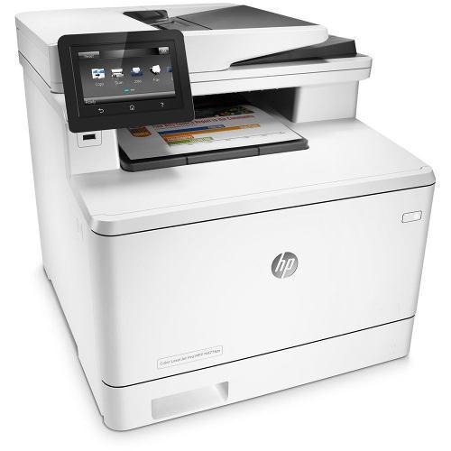 Impresora laser color multifuncional hp laserjet pro m477fdn