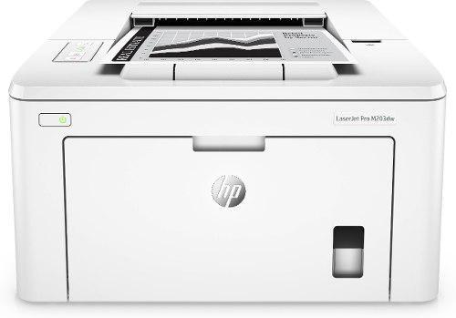 Impresora laser hp b n laserjet pro m203dw duplex wifi 30ppm