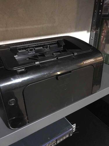 Impresora laserjet hp p1102w para reparar o refacciones