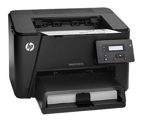 Impresora láser hp laserjet pro m201dw - 25ppm duplex +wifi