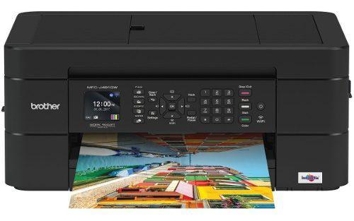 Impresora multifuncional brother wifi fax escaner