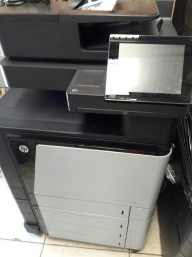 Impresora multifuncional hp color laserjet flow mfp m880
