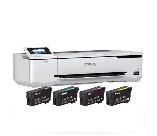 Impresora plotter epson t3170 surecolor 24 inch wifi red usb