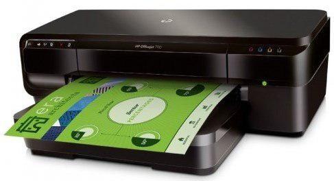 Impresora tabloide hp officejet 7110 wifi inyeccion de tinta
