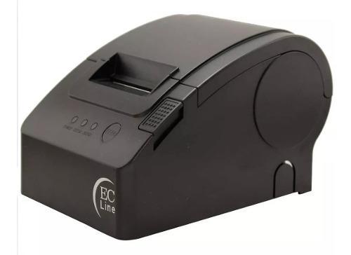 Impresora termica miniprinter ec line usb 58mm ec-pm-58110