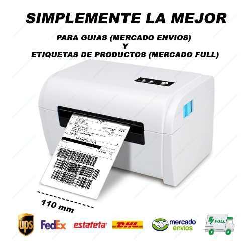 Impresora térmica oficial etiquetas y guías mercado full