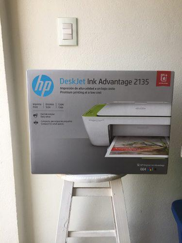 Impresoras hp deskjet ink avantage 2135