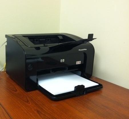 Impresoras hp p1102w usada no incluye toner