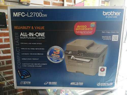 Multifuncional brother mfc l2700dw laser envío gratis