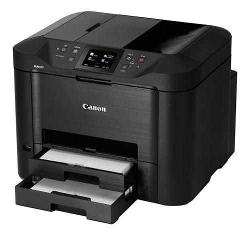 Multifuncional canon mb5410 con sistema de tinta, duplex