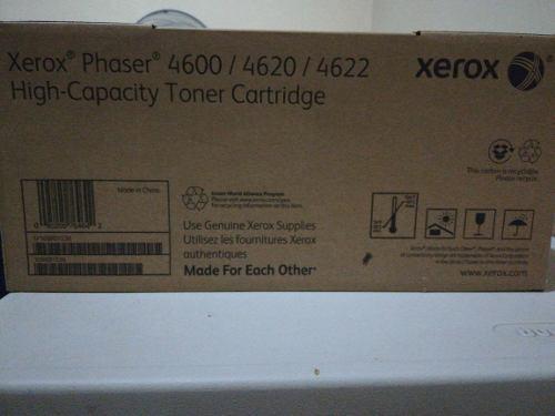 Tóner alta capacidad impresora xerox phaser 4600/4620/4622