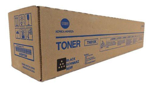 Toner konica minolta tn615k original cartucho color negro