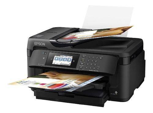 Ultima impresora epson workforce wf-7710 wireless wideformat