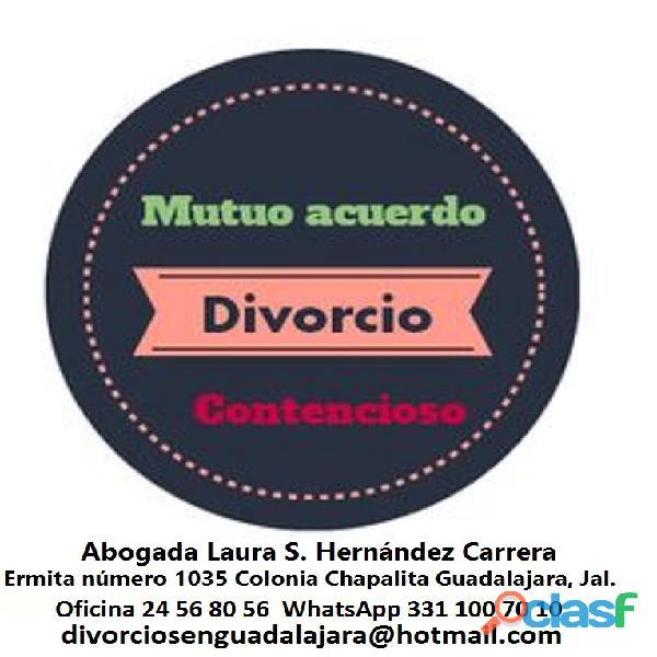 Asesoría legal gratuita en divorcios|abogada experta en guadalajara