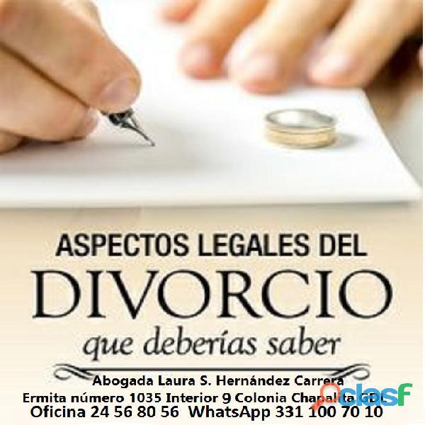 Asesoría legal gratuita en divorcios|Abogada experta en Guadalajara 2