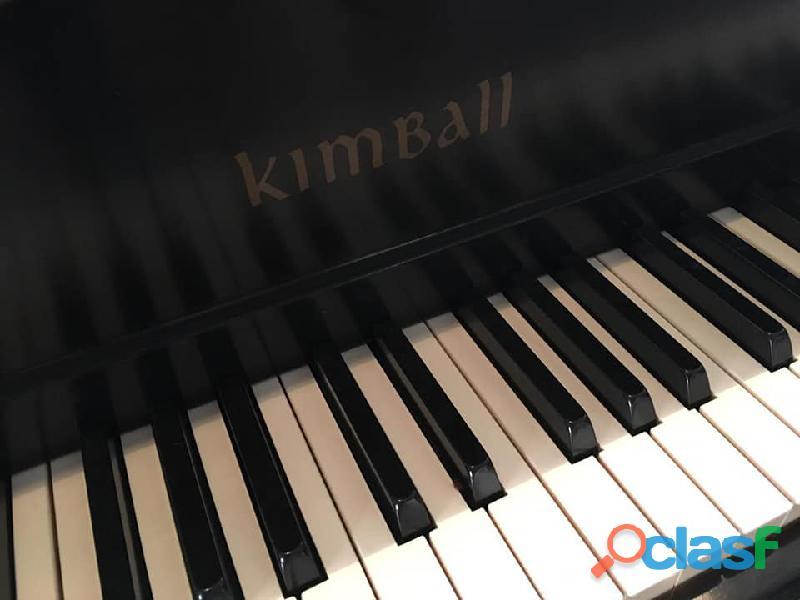 "Hermoso piano de 1/4 cola marca ""kimbal"""